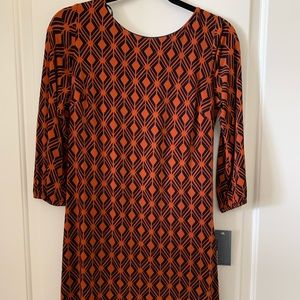 DONNA Rico geometric pattern dress
